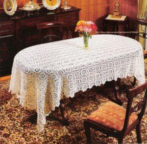 Скатерть как украшение стола
