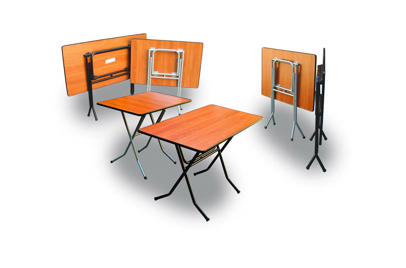 Складной банкетный стол из ДСП