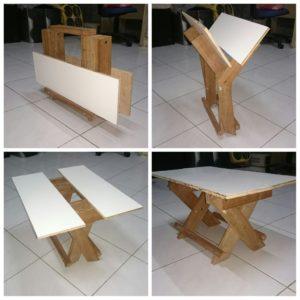 Складной стол для улицы