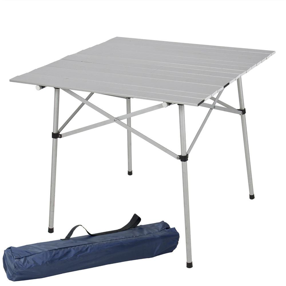 Складной стол из алюминия