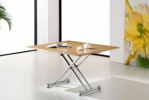 Складной столик на колёсиках