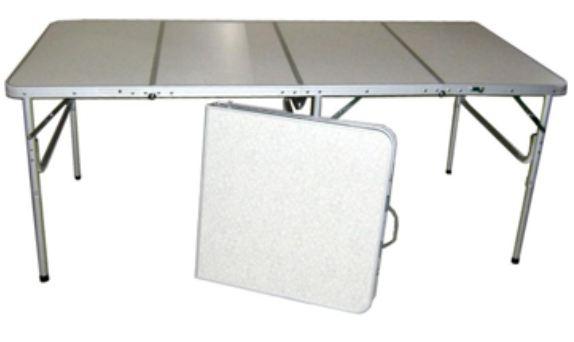Складные столы из различных материалов