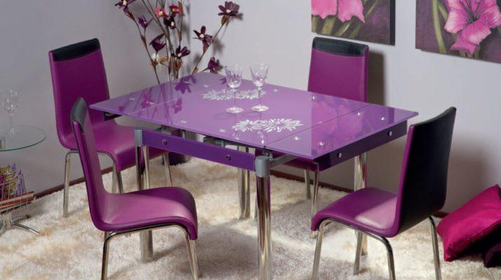 Стеклянный кухонный стол недостатки