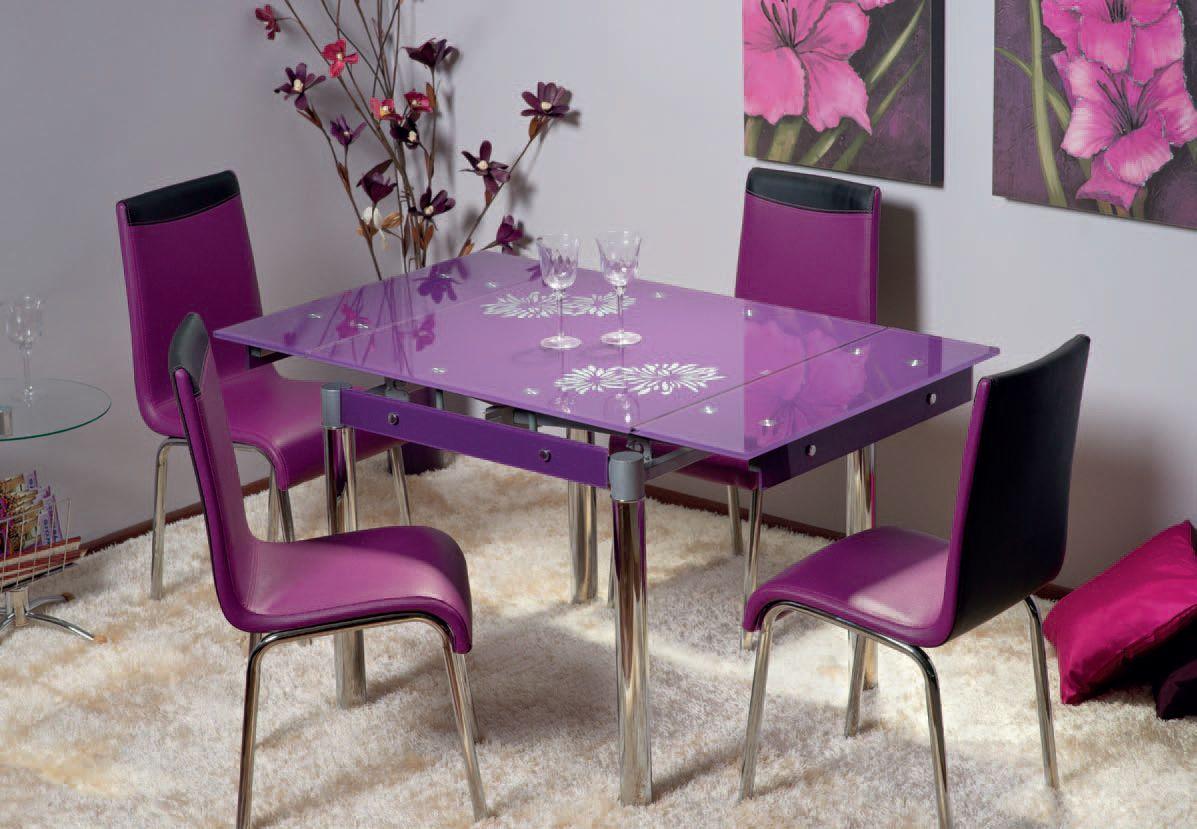 Стеклянные столы для кухни, обзор моделей