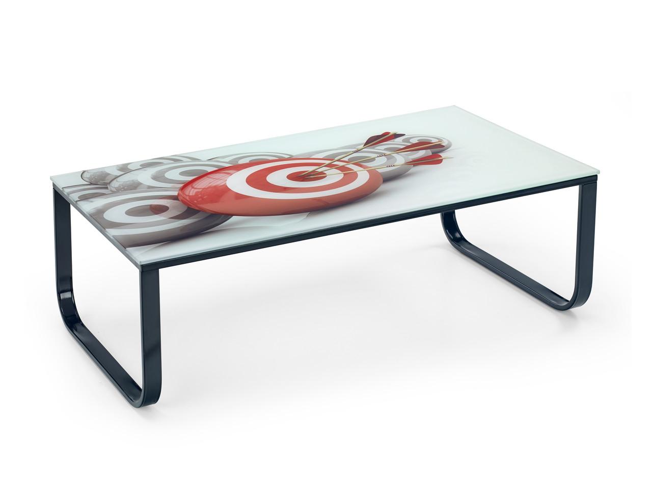 Стеклянный небольшой стол