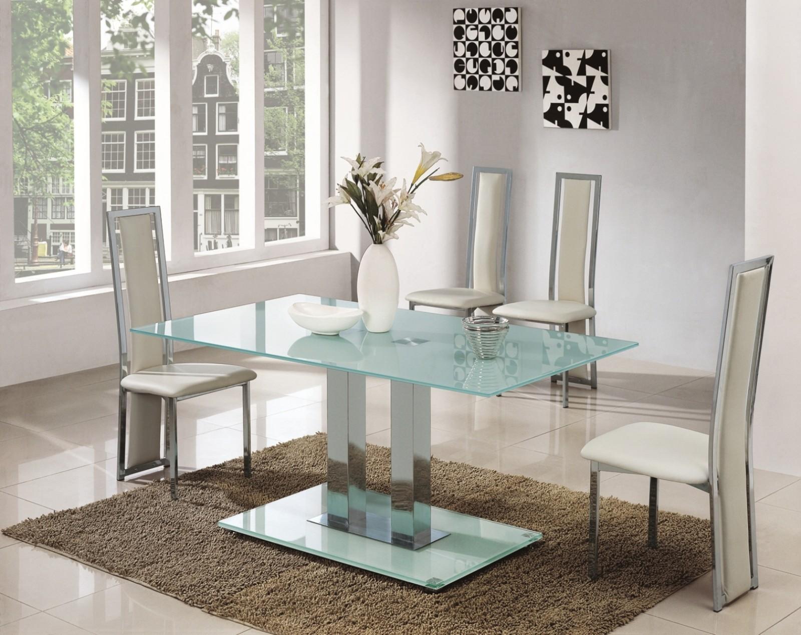 Стеклянный стол матовый
