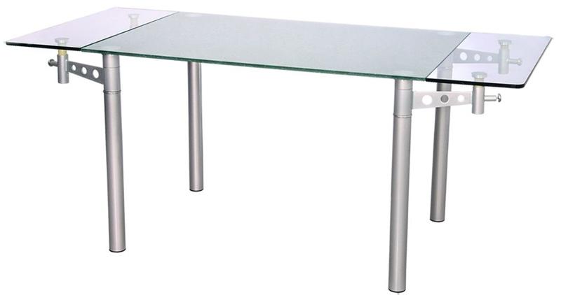 Стеклянный стол раскладывающийся