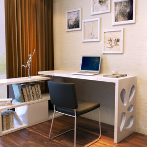 компьютерный стол белый основные правила выбора подходящей модели