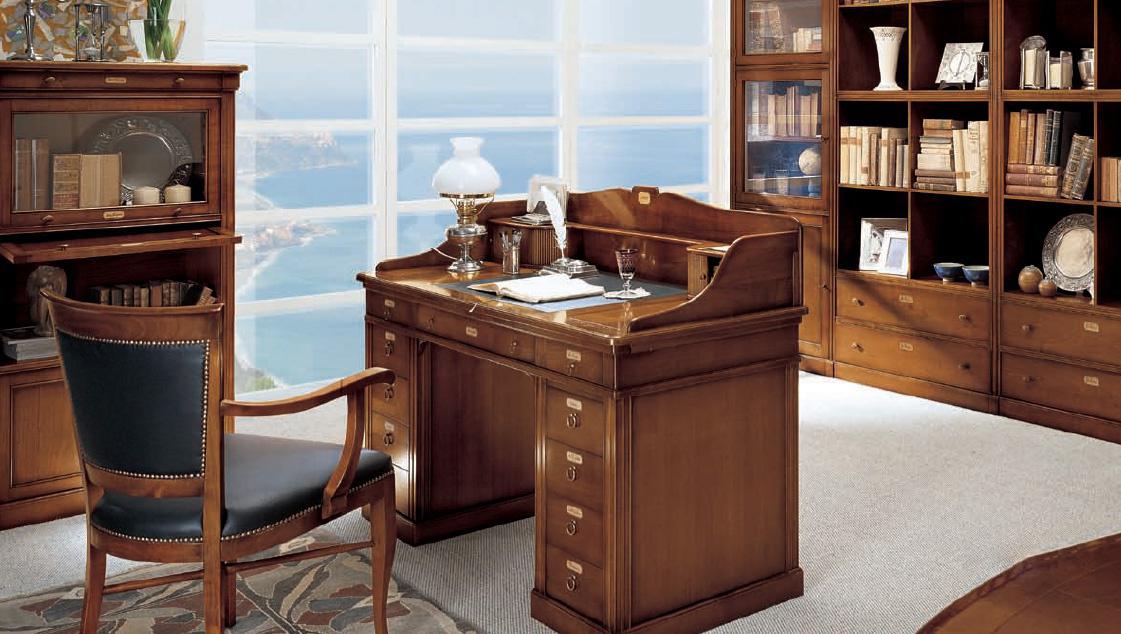 Стол для кабинета руководителя из массива дерева