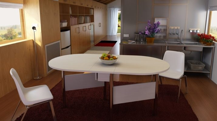 Стол для просторной кухни