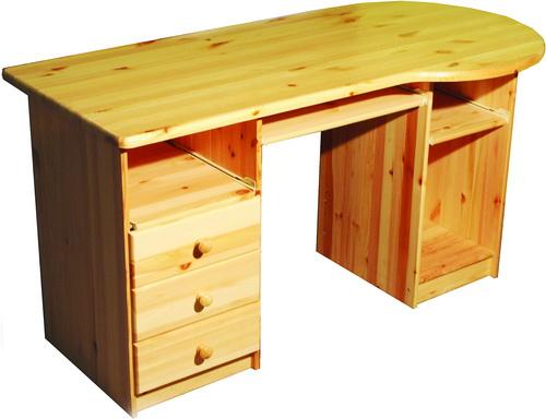 Стол из дерева для школьника