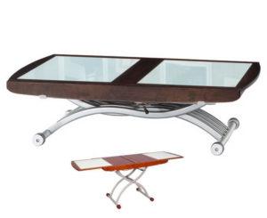 Стол из комбинированных материалов