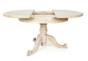 Стол из светлого дерева раскладной
