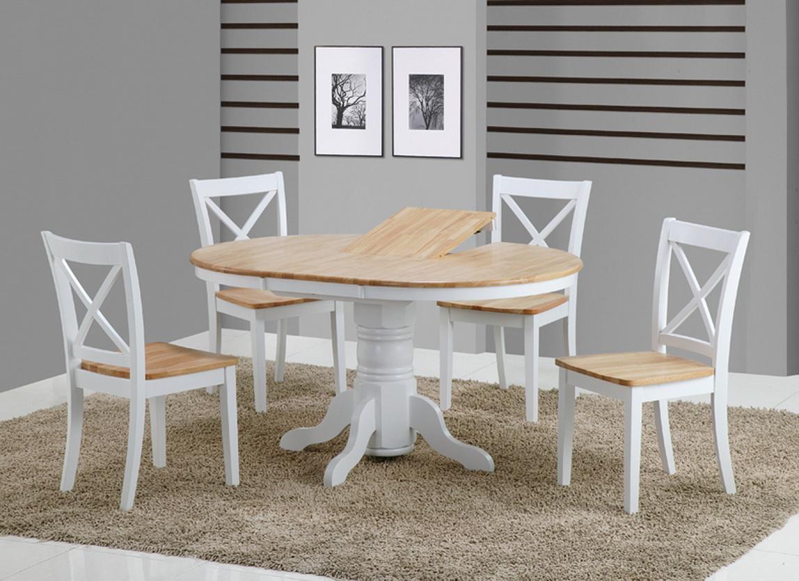 Стол обеденный круглый раскладной