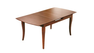 Стол обеденный раздвижной коричневый