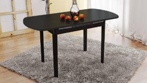 Стол обеденный раздвижной на деревянных ножках