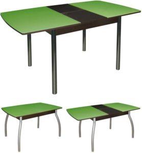 Стол обеденный раздвижной стекло