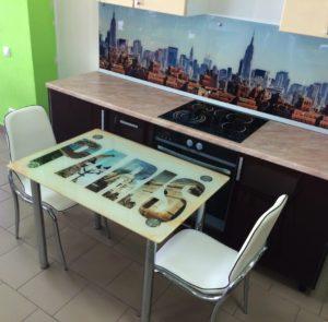 Стол обеденный с фотопечатью