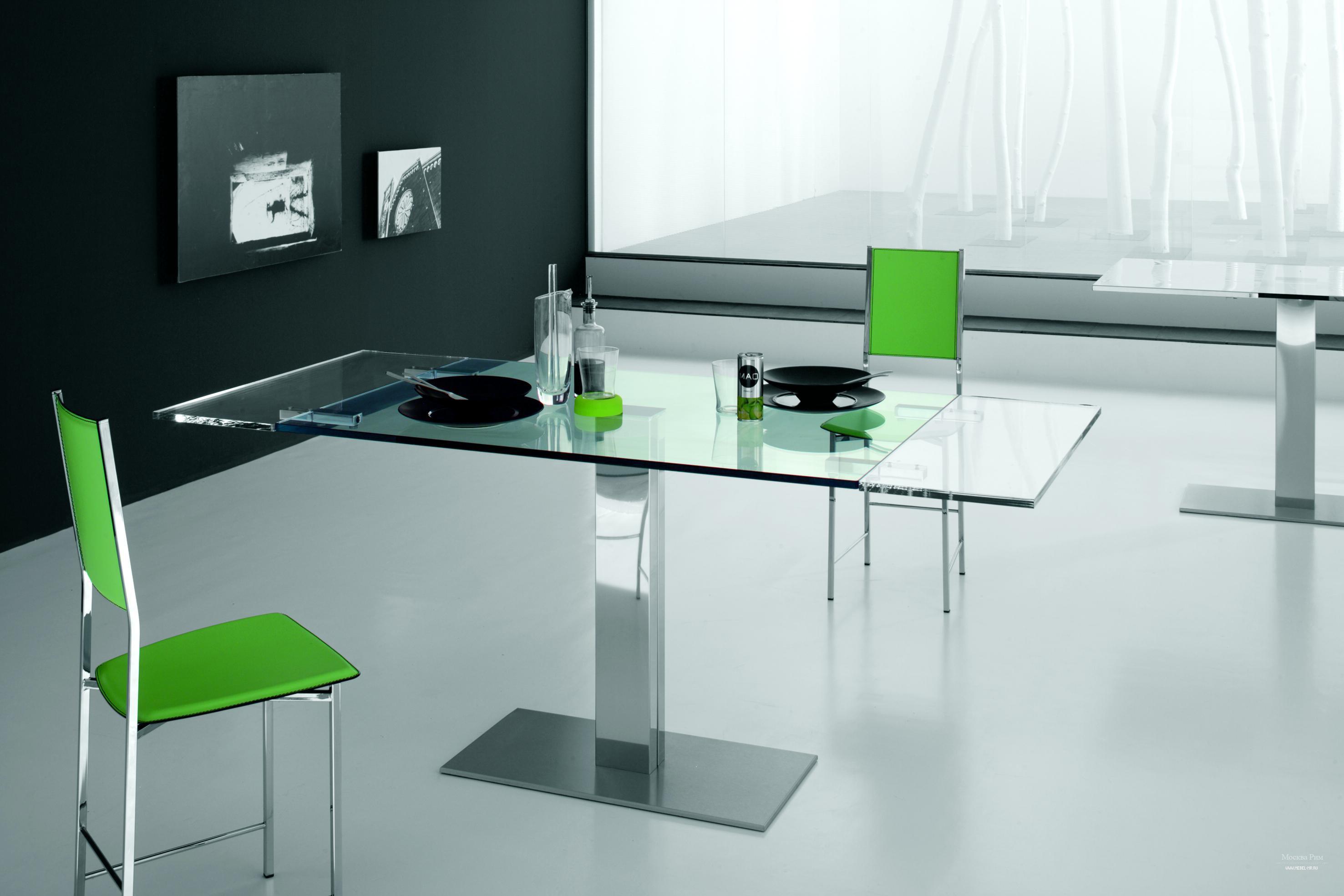 Стол раздвижной стекло