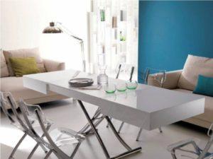 Стол с крестообразной конструкцией