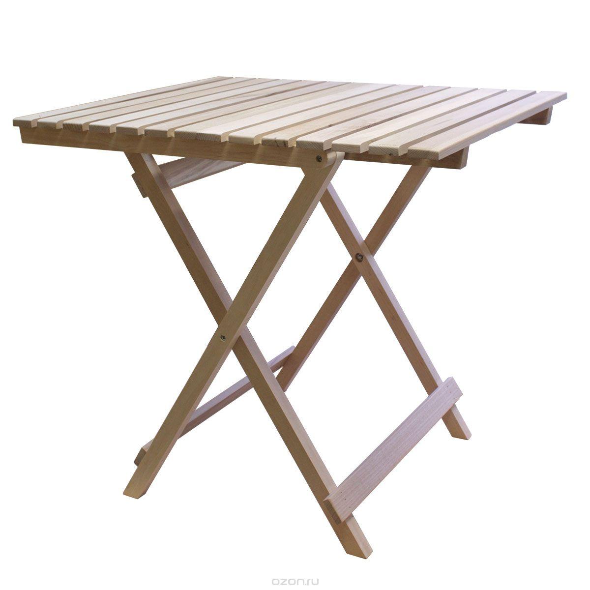 Стол с крестообразными ножками