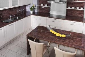 Столешницы для кухни из ламинированного ДСП