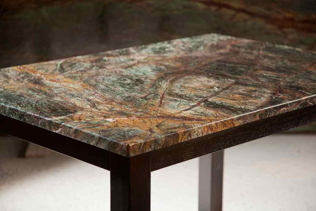 Стол с каменной столешницей своими руками