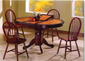 Цвет тонировки стола и стульев