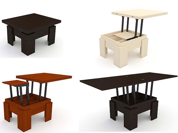 Цветовая палитра столов