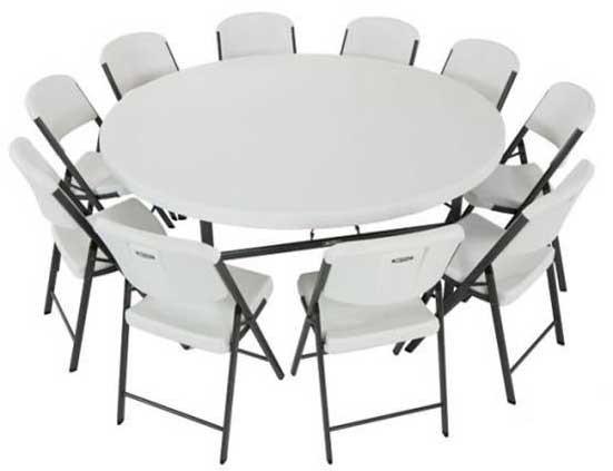 Удобный круглый стол