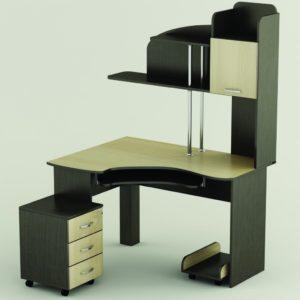 Угловая модель письменного стола