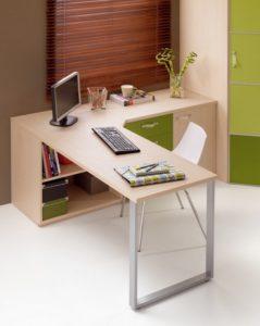 Угловой письменный подростковый стол