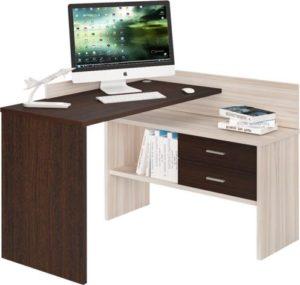 Угловой письменный стол прямой