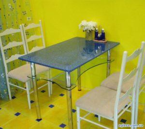 Вариант исполнения кухонного стола