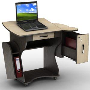 Владельцам небольших квартир подойдёт мини компьютерный стол для ноутбука