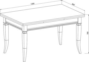 Высота стола, стандартные значения с учетом всех членов семьи