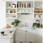 Белый цвет на вашей кухне