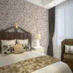Топ-5 правил выбора стильных обоев для спальни