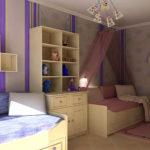 Оформление детской комнаты для разнополых детей