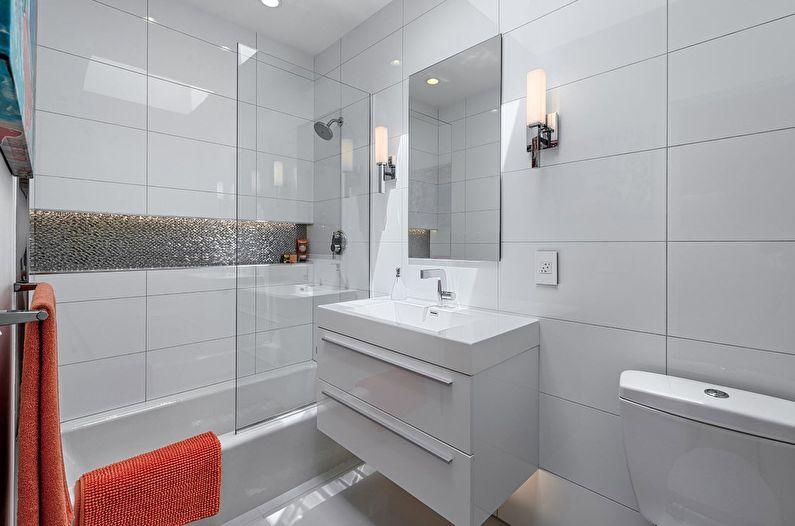 Как визуально расширить пространство маленькой ванной комнаты