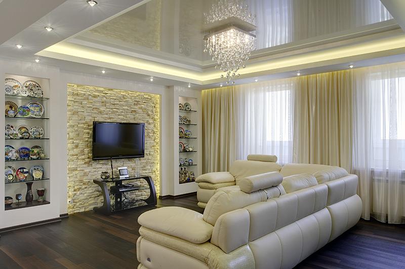 Свет в гостиную: как создать комфорт и уют