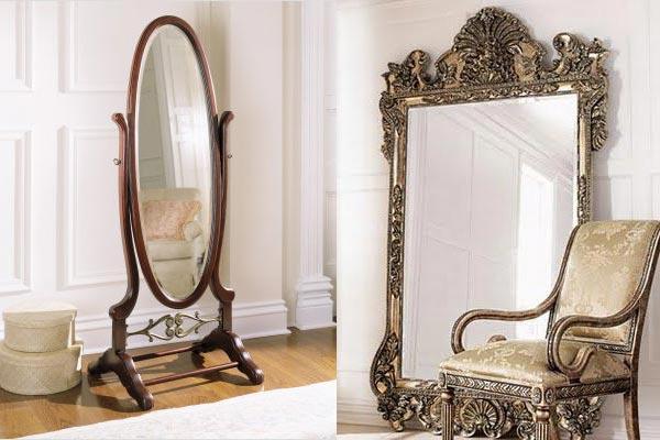 Зеркало в интерьере: виды, принципы выбора