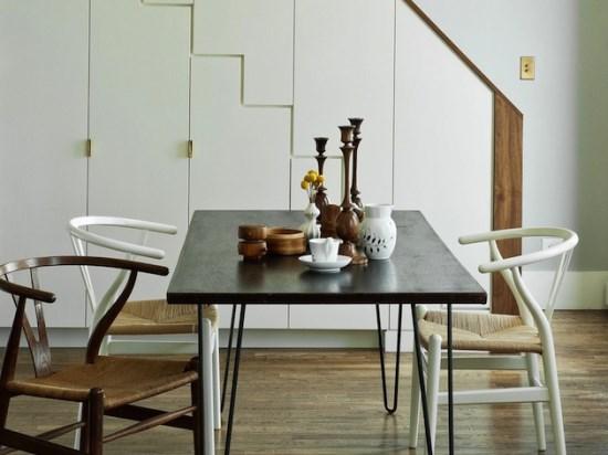 Какой декор поставить вцентре обеденного стола? 25 фото