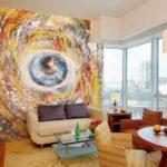 Красивые фрески ирисунки настенах винтерьере