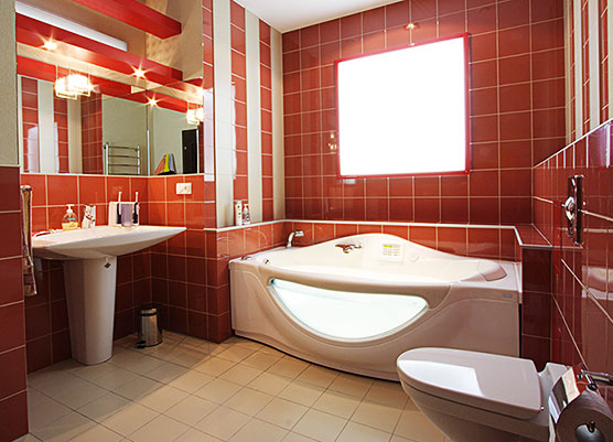 Интерьер ванной комнаты (45 фото)