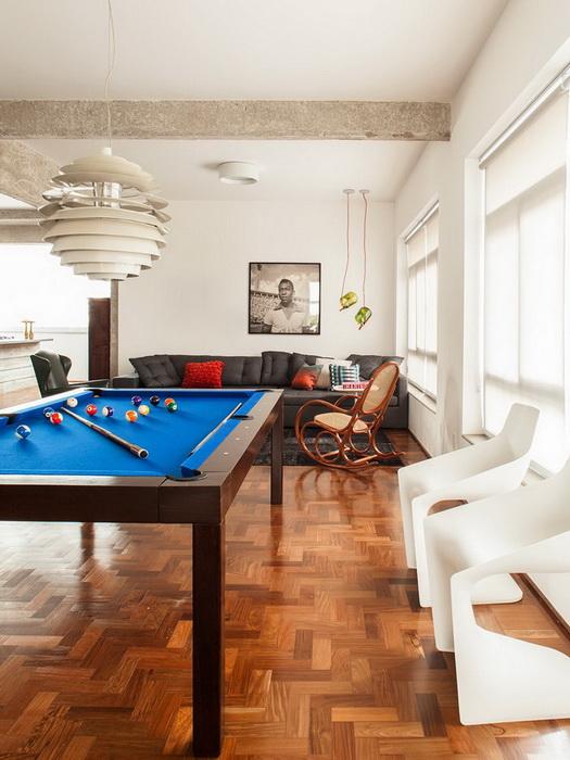 Как оформить центр гостиной