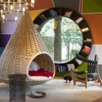 Подвесные кресла в интерьере (30 фото примеров)