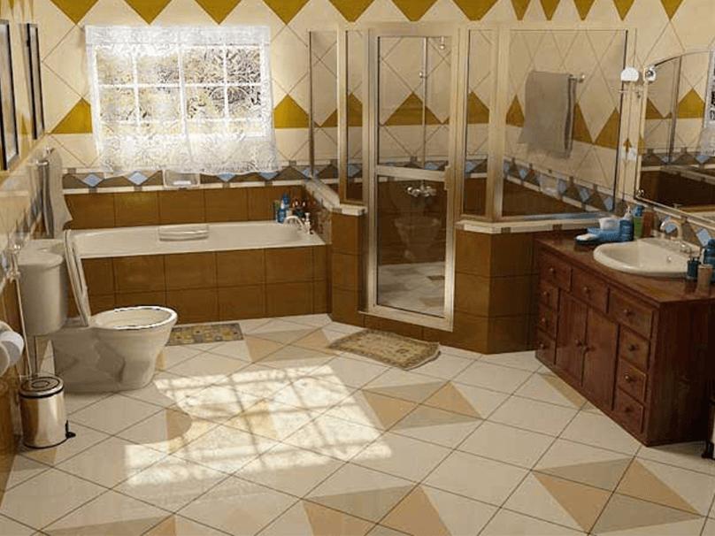 Дизайн ванной комнаты 5 кв м (44 фото): главные правила оформления