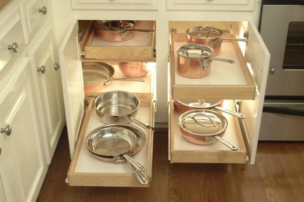 17 самых популярных идей хранения для кухни
