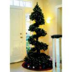 Необычные новогодние елки или креативные новогодние елки (15 идей)